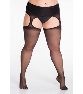 Rajstopy Size ++ Strip Panty 20 den (lycra) ART. 136